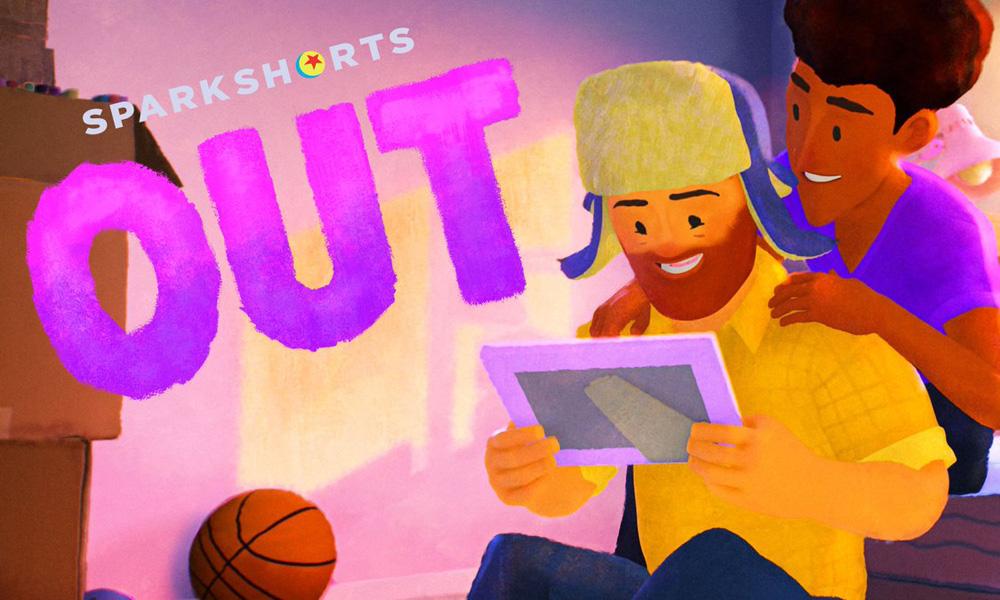 """Disney + Pixar con el cortometraje """"Out"""" dan inicio a su primer personaje  gay. - Dibujos animados en línea"""