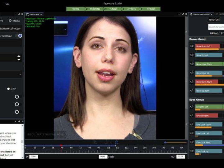 Faceware Technologies lancia la piattaforma reinventata di Faceware Studio