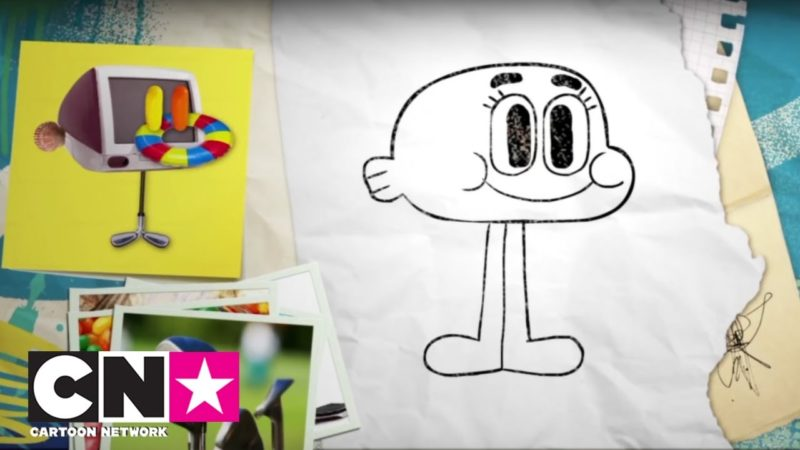 Come disegnare Darwin | CN insieme | Cartoon Network Italia