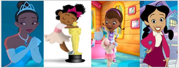 Donne nere in animazione