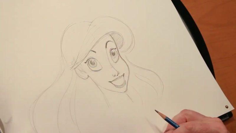 Impariamo a disegnare Ariel