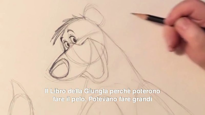 Impariamo a disegnare Baloo