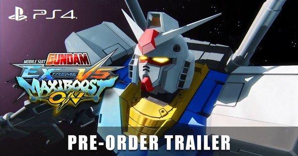 Mobile Suit Gundam: Extreme Vs. Maxiboost Anteprima nell'anteprima del gioco Bonus pre-ordine – Notizie