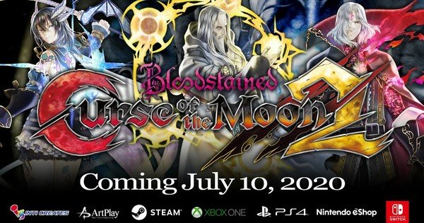 Bloodstained: Curse of the Moon 2 Game Trailer avslöjar 10 juli avsnitt - Nyheter