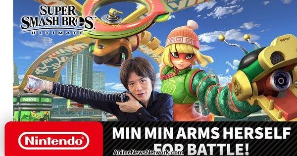 ARMS Min Min si unisce al gioco Super Smash Bros. Ultimate il 29 giugno – Notizie