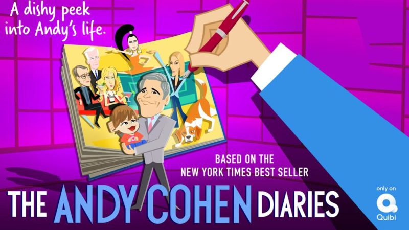"Quibi hade premiär i ""The Andy Cohen Diaries"", ""Your Daily Horoscope"" i juli"