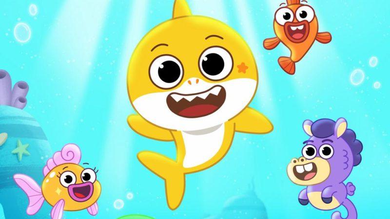 """Nickelodeon è immerso nella nuova serie prescolare """"Baby Sharks Big Show"""""""