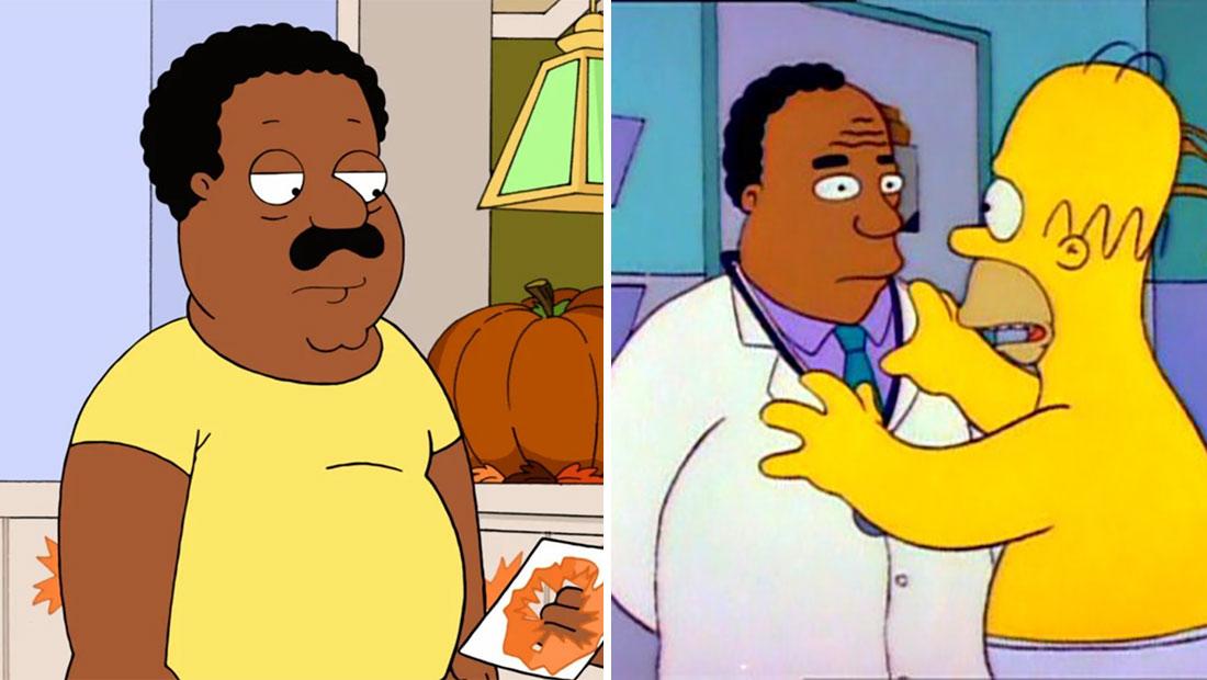 """Gli attori bianchi non reciteranno più personaggi afroamericani in """"Family Guy – I Griffin"""" e """"I Simpsons"""""""