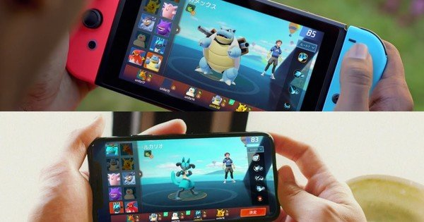ポケモンユナイトチームベースのスイッチとスマートフォン向けバトルゲームが発表-ニュース