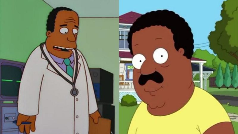 """Family Guy -perheen tähdet - Family Guy, Mike Henry ja White """"The Simpsonista"""" - katoavat afrikkalais-amerikkalaisista hahmoista"""