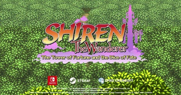 Shiren the Wanderer: The Tower of Fortune e o jogo Dice of Fate vão para o oeste para Switch, PC - Notícias