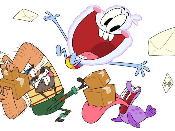"""Nickelodeon uusi alkuperäinen animaatiosarja uudella """"Middlemost Post"""""""