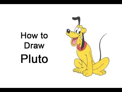 Come disegnare Pluto (corpo intero)