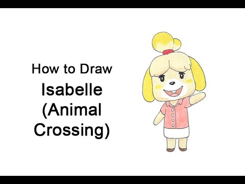 Come disegnare Isabelle di Animal Crossing