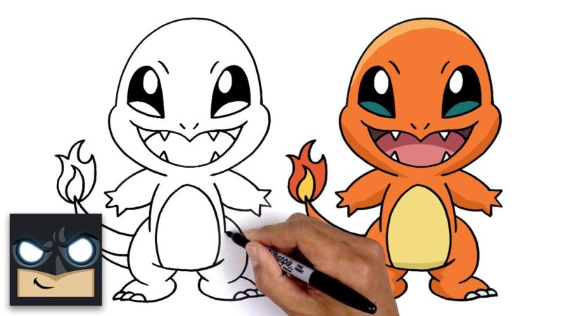 Come disegnare Charmander | Pokemon