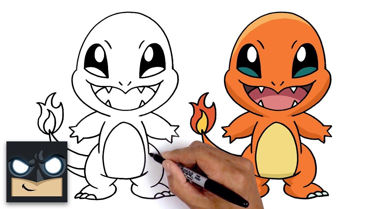 Come disegnare Charmander | Pokemon