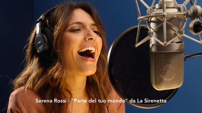 #DisneyMagicMoments: Serena Rossi för italienska Röda korset