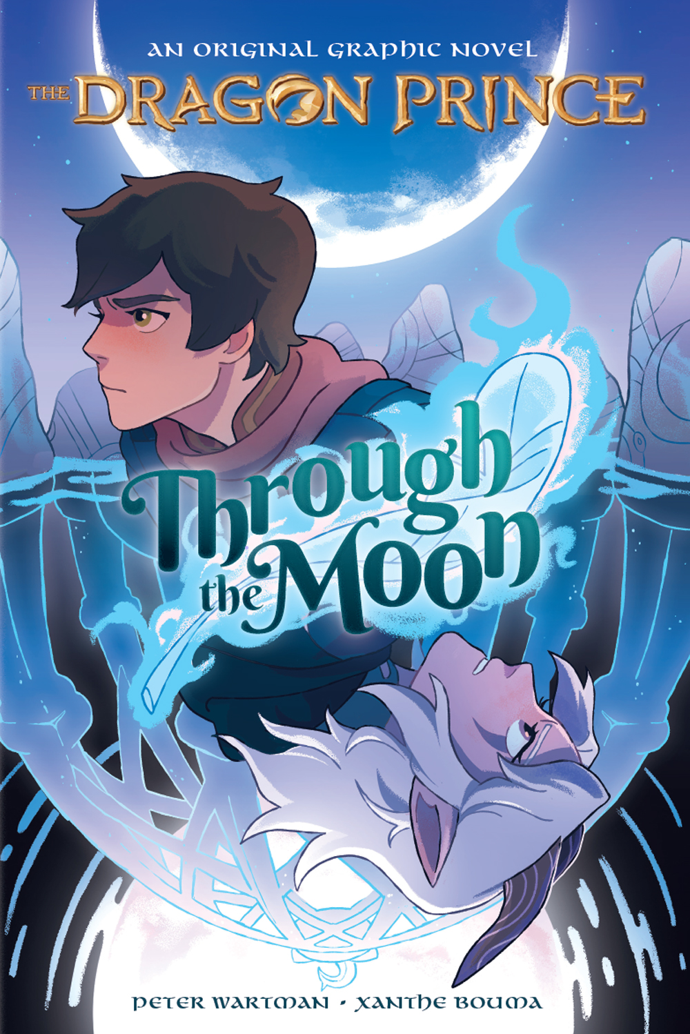 Through the Moon (The Dragon Prince Graphic Novel # 1)