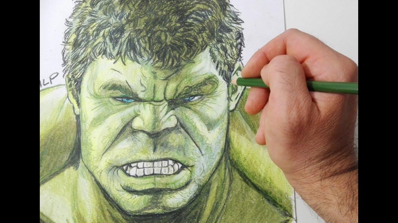 Come disegnare Hulk passo  passo