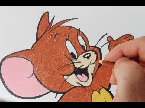 Come disegnare il topo Jerry da Tom e Jerry passo passo