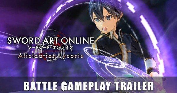 Il trailer del gioco Lycoris di Alicization online di Sword Art introduce il sistema di battaglia – Notizie