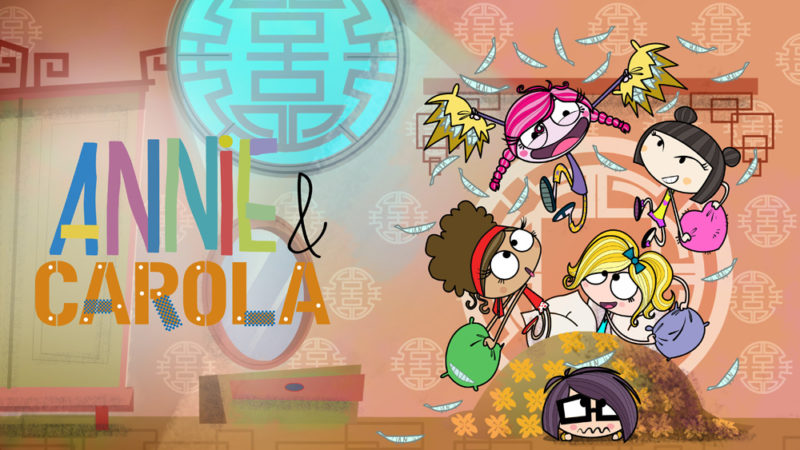 RTVE se une a 'Annie & Carola' en Co-Pro con Mondo TV Iberoamérica