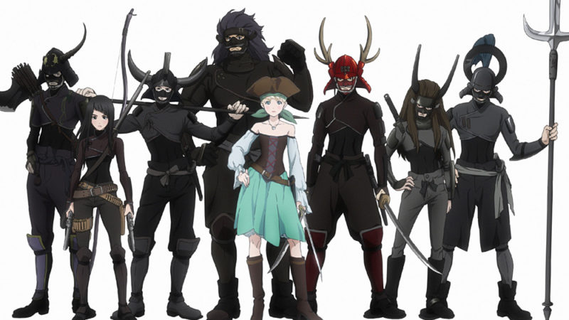 "Toonami vil samarbeide med Crunchyroll for ""Fena: Pirate Princess"""