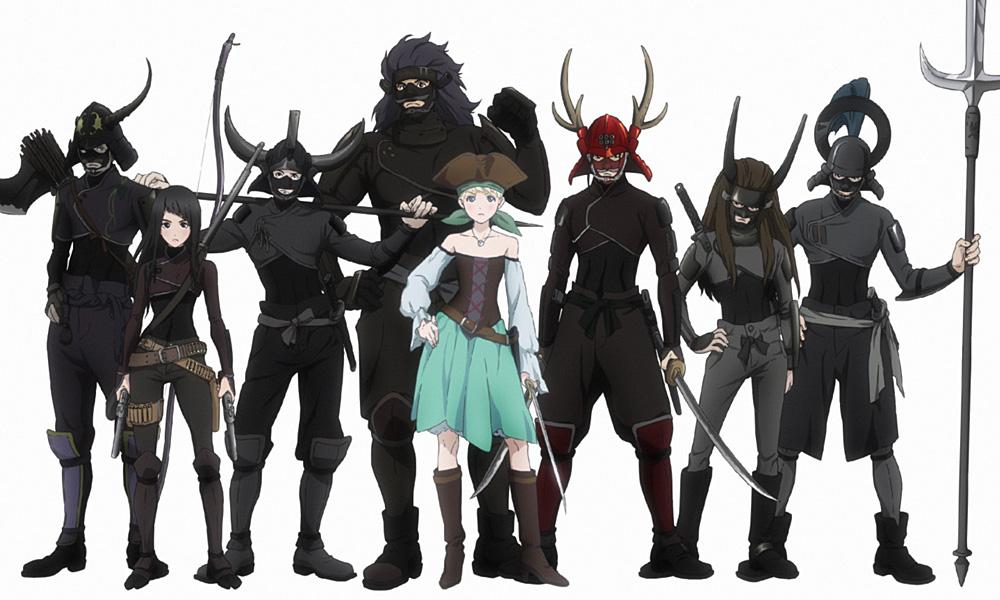"""Toonami collaborerà con Crunchyroll per """"Fena: Pirate Princess"""""""
