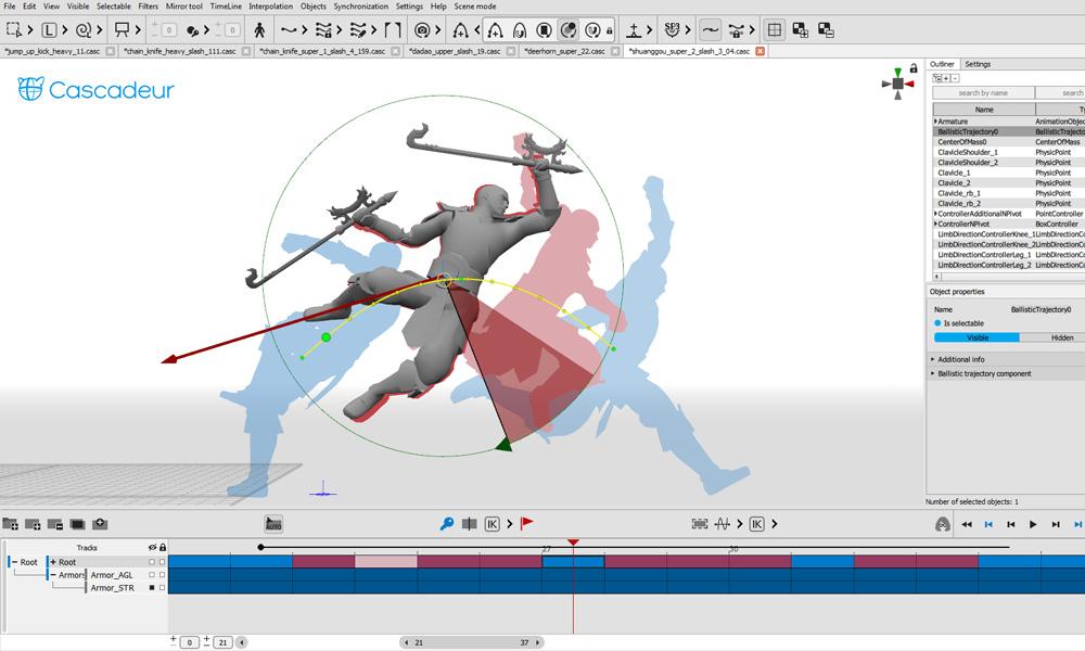 Nekki lancia il software di animazione Cascadeur per l'uso commerciale gratuito