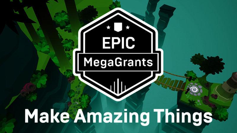 Epic Games ofrece más de $ 42 millones en MegaGrant Epic hasta la fecha