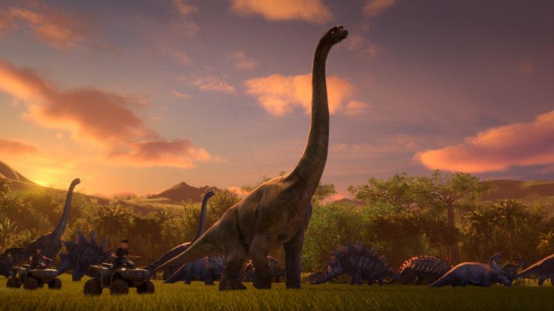 """Hit-serien """"Jurassic World: Cretaceous Field"""" sänds den 18 september på Netflix"""