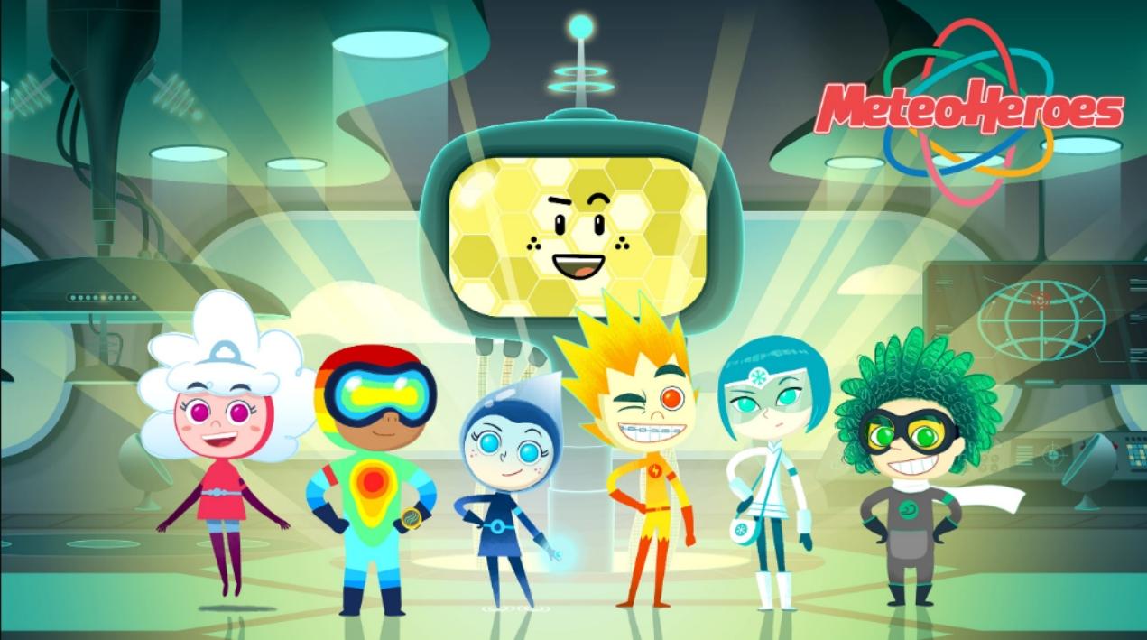"""Arrivano i nuovi episodi dei """"MeteoHeroes"""", i cartoni animati dedicati all'ambiente"""