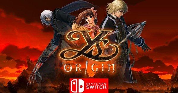 Spelet Ys Origin kommer att släppas 2020