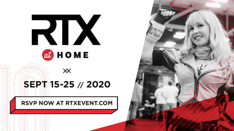 RTX at Home un evento virtuale dal 15 al 25 settembre