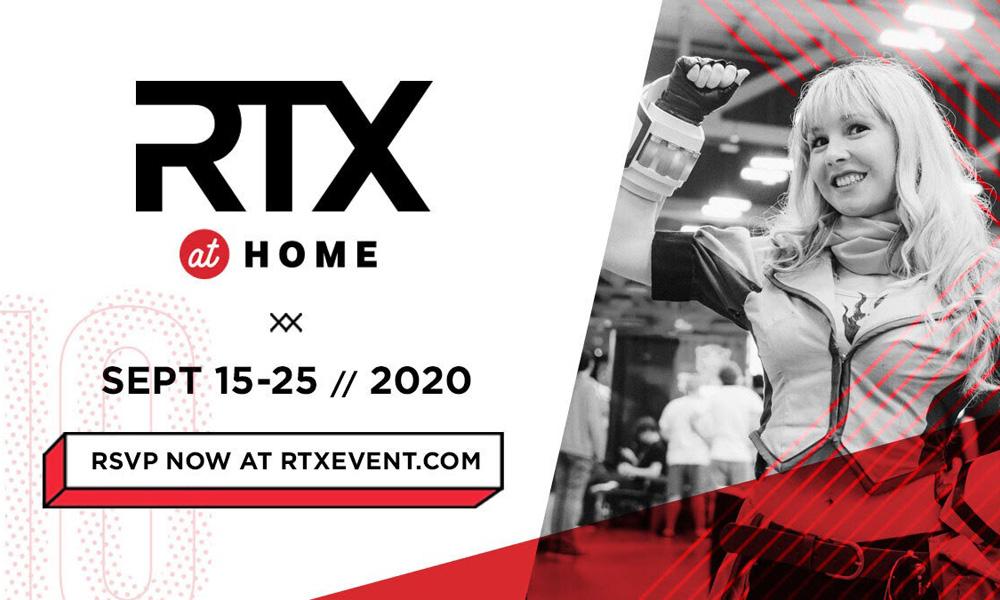 RTX at Home un evento virtuale dal 15 al 25 settembre