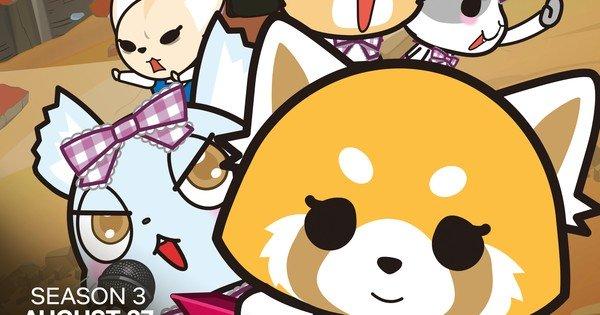 Netflixissä 27. elokuuta anime Aggretsukon kolmas kausi debytoi