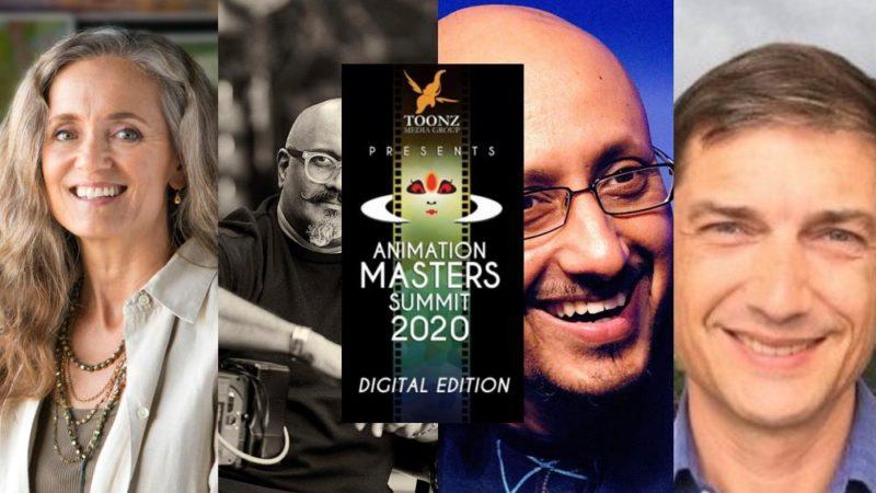 Animation Masters Summit fa il suo debutto virtuale dal 20 al 24 luglio