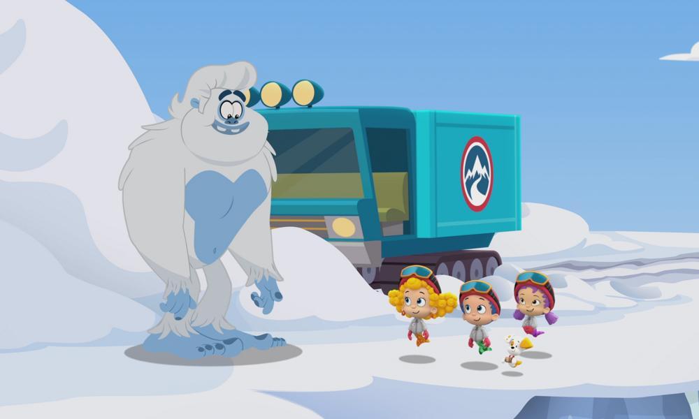 """Clip esclusiva: Henry Winkler (Fonzie) interpreta Yeti nel nuovo """"Bubble Guppies"""""""