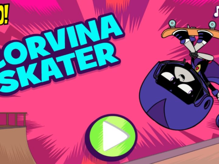 Teen Titans Goのオンラインゲーム-Corvina Skater