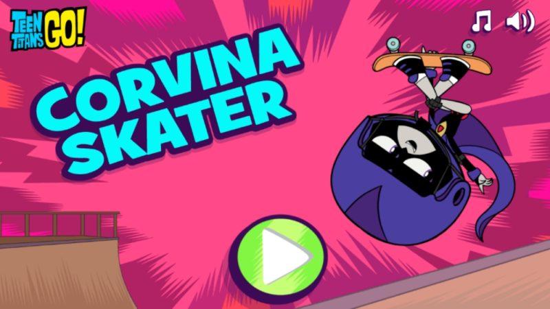 Gra online Teen Titans Go - Corvina Skater