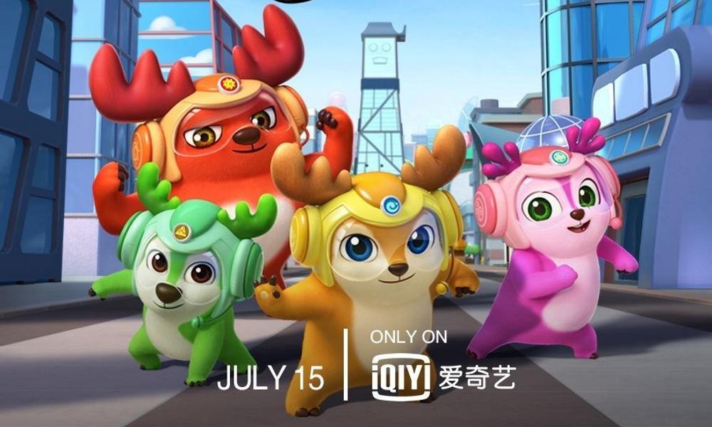 """La nuova serie prodotta da iQIYI """" Deer Squad """"andrà in onda su Nickelodeon"""