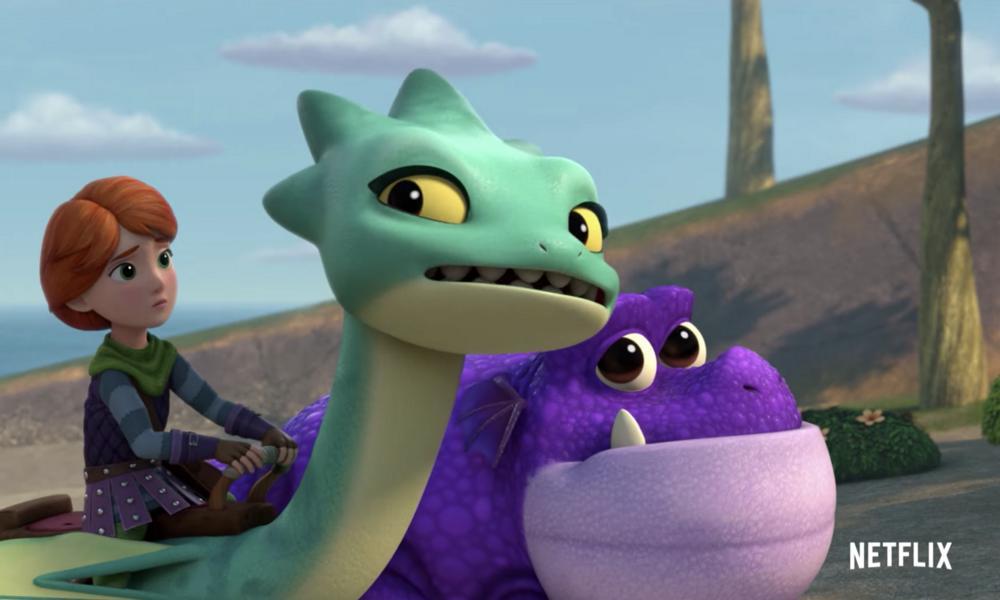 """Renee Goldberry vola con lo speciale """"Dragons Rescue Riders""""su Netflix"""