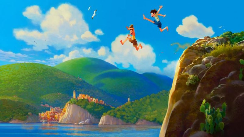 """""""Luca"""" nästa Pixar-film på den italienska Rivieran"""