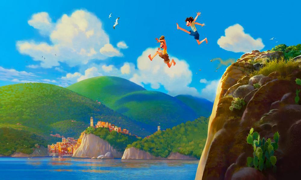 """""""Luca"""" il prossimo film della Pixar ambientato sulla Riviera italiana"""