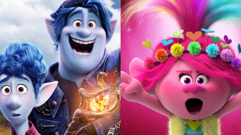 """In Großbritannien werden die Kinos wieder eröffnet. """"Trolls World Tour"""" und """"Onward"""" die ersten in der Gesamtwertung."""