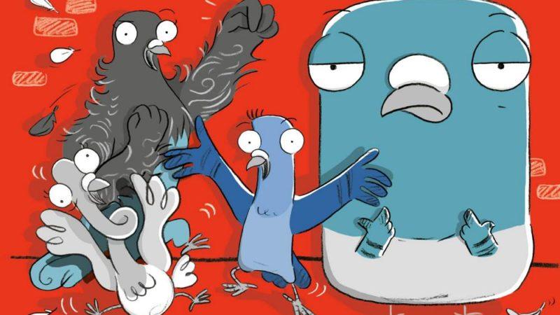 """Nickelodeon produrrà il film """"Real Pigeons Fight Crime"""", serie con James Corden e Ben Winston"""