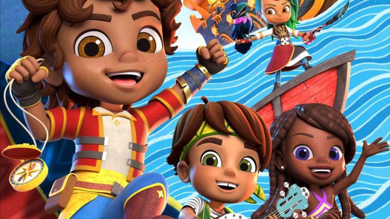 """""""Santiago of the seas"""" kommer att debutera på Nickelodeon i höst"""
