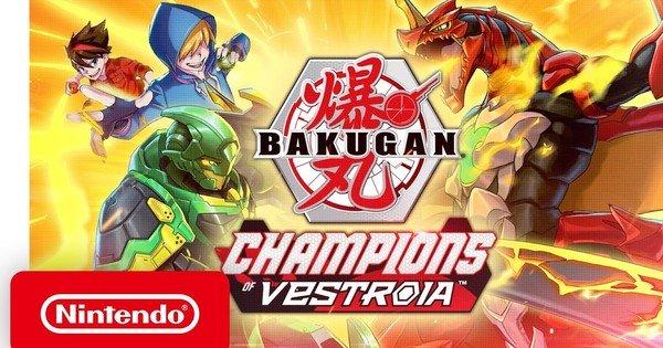 Bakugan: Champions of Vestroia-spelet för Nintendo Switch tillkännagavs i november