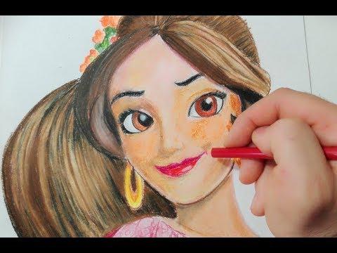 Come disegnare Elena di Avalor passo passo