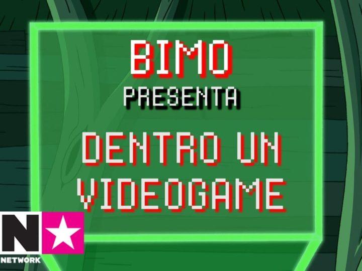 Dentro un videogame | Bimo presenta | Cartoon Network Italia